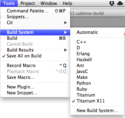 Custom build in Sublime Text 2